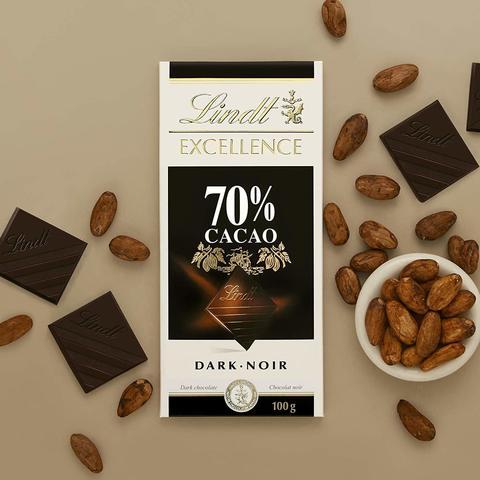 Şokolad \ Шоколад \ Chocolate Lindt Excellence Dark Supreme Noir 70% Cocoa, 100g