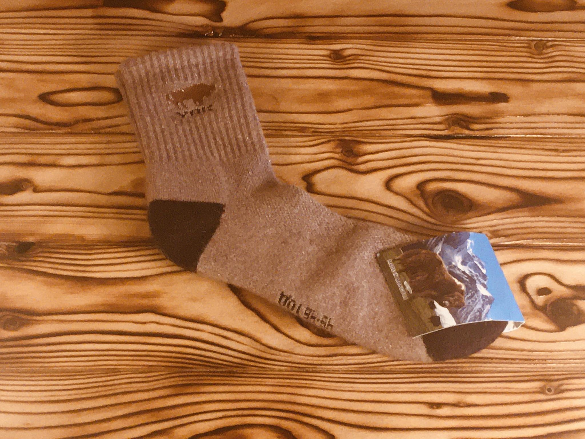 Носки из шерсти яка / р. 45-46 (Светло-серые) фото3