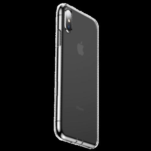 Baseus / Чехол Baseus Glaze Simplicity (dust-free) для iPhone Xs | Прозрачный