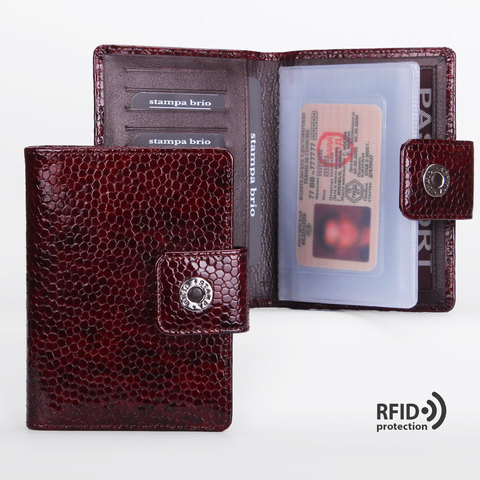 251 R - Обложка для документов с RFID защитой