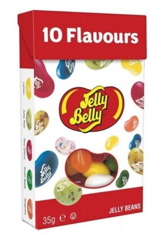 Jelly Belly 10 flavours Джелли Белли 10 вкусов 35 гр