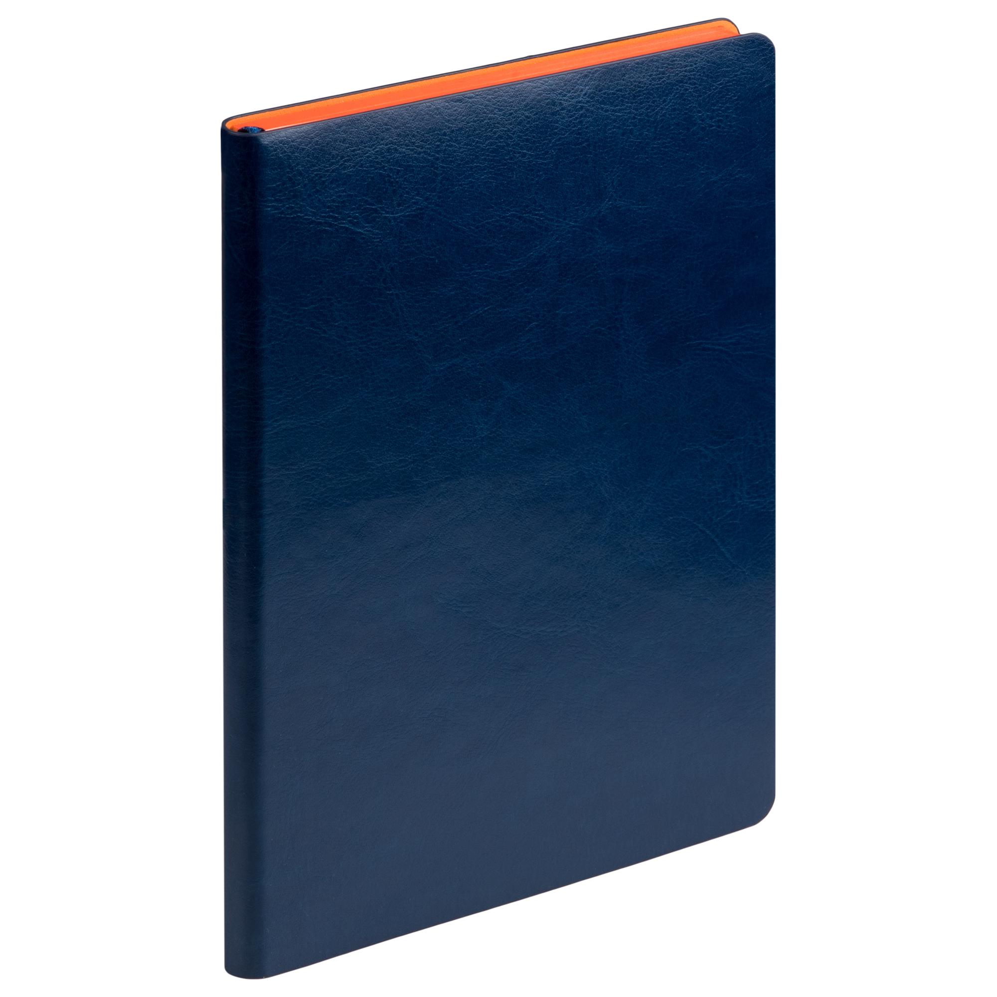Ежедневник Portobello Trend, River side, недатированный, синий/оранжевый
