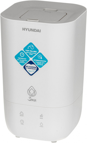 Увлажнитель воздуха Hyundai H-HU14E-3.0-UI189 23Вт (ультразвуковой) белый