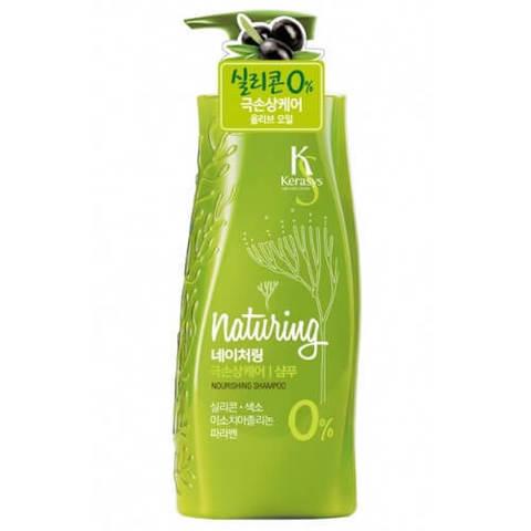 Питательный шампунь для волос Kerasys Naturing с морскими водорослями 500 мл