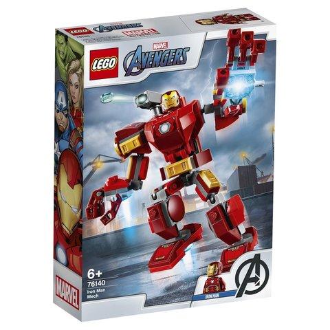 LEGO Super Heroes: Железный Человек: трансформер 76140 — Iron Man Mech — Лего Супергерои Марвел