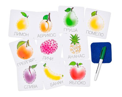 Карточки-прописи Фрукты, Smile decor Ф900