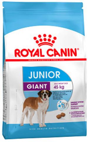 Royal Canin Giant Junior сухой корм для щенков гигантских пород с 8 до 18-24 месяцев