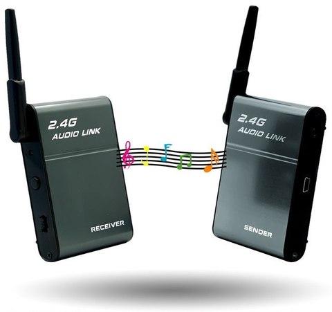 Удлинитель AUDIO звукового сигнала беспроводной 50 метров