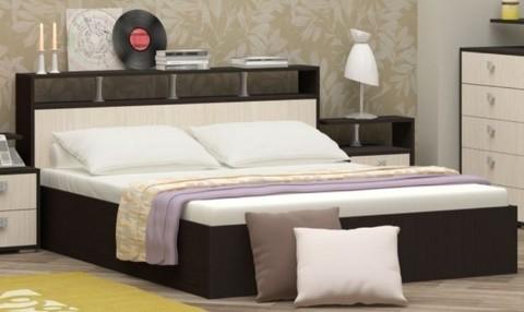 Кровать Карина-2 ЛДСП, 160х200