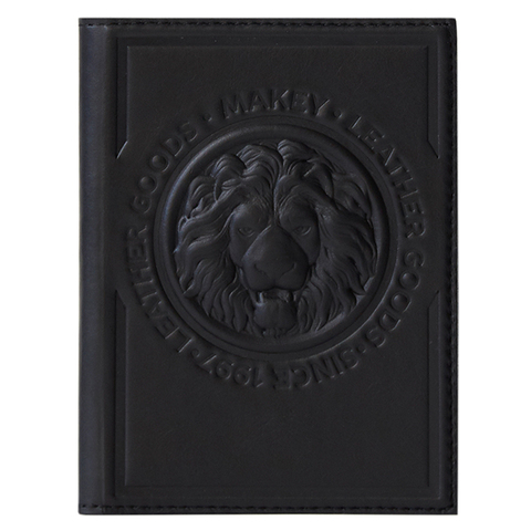 Обложка для автодокументов «Royal». Цвет черный