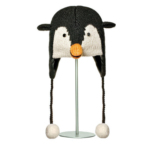 Картинка шапка с ушами Knitwits Peppy the Penguin  - 1