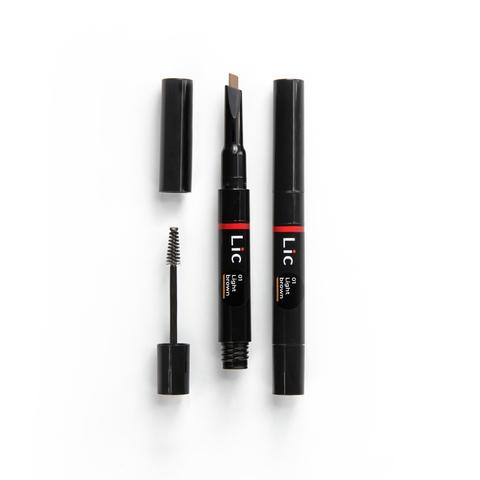 Карандаш механический для бровей 2 в 1 (с гелем для моделир-я)/Mechanical eyebrow pen NEW