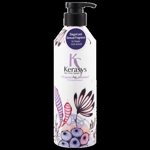 Парфюмированный шампунь Kerasys для тонких волос 400 мл