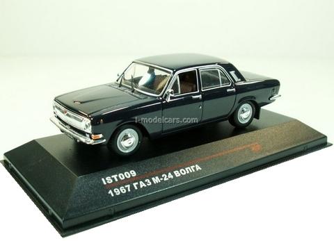 GAZ-M24 Volga dark blue 1967 IST009 IST Models 1:43