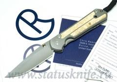 Нож Chris Reeve Knives Large Sebenza 21 Box Elder burl Inlay