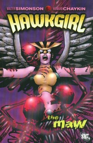 Hawkgirl. The Maw