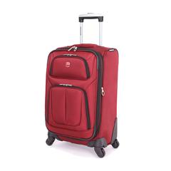 Чемодан Swissgear Sion, бордовый, 32x15x51 см, 24 л