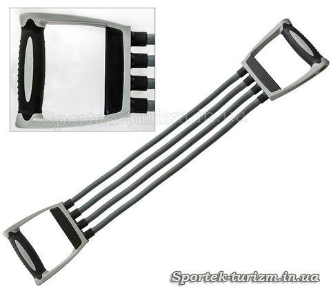 Эспандер плечевой IronMaster на 4 жгута (IR97704)