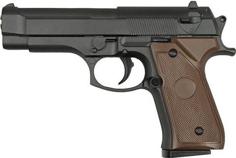 Cтрайкбольный пистолет Galaxy G.22 Beretta 92 mini металлический, пружинный