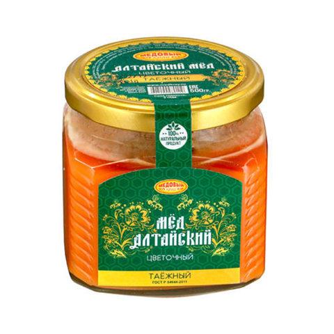Таёжный алтайский мёд 500 г