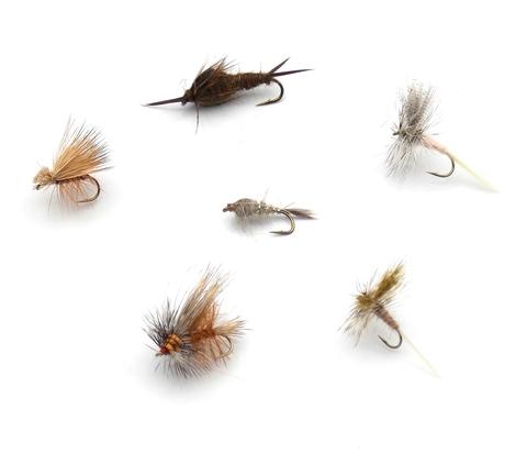 Набор мушек на голавля Pacific Fly Group Best Chub Flies №1 р. М., 6 шт. (70003749)