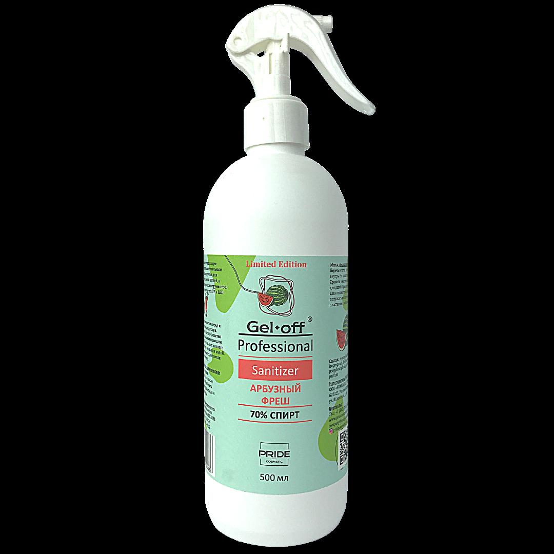 Антисептик GEL-OFF Professional Sanitizer арбузный фреш 500мл
