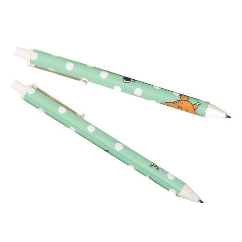 Ручка гелевая черная Fox