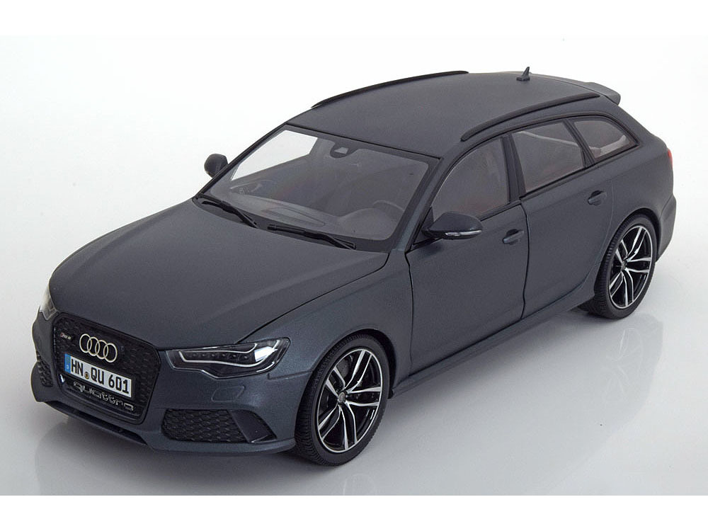 Коллекционная модель Audi RS6 Avant 2013 Matt Grey SE By Audi