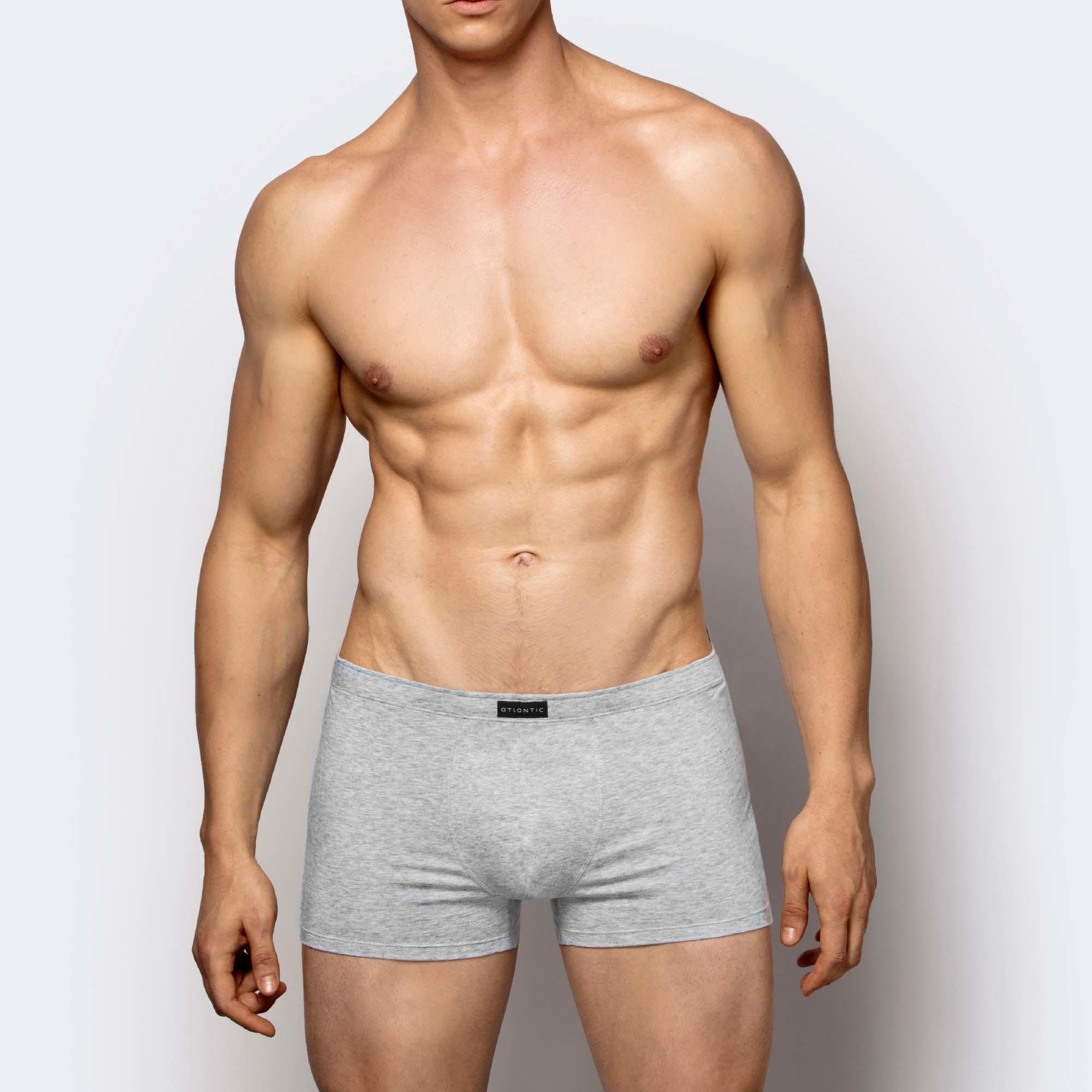 Трусы мужские шорты Plus size Basic BMH-042