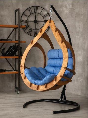 Подвесное кресло Каппуло Эбеновое дерево PK04