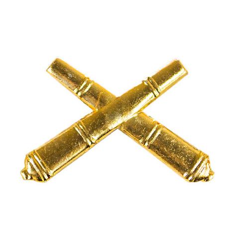 Эмблема петличная РВиА, металл. золотой