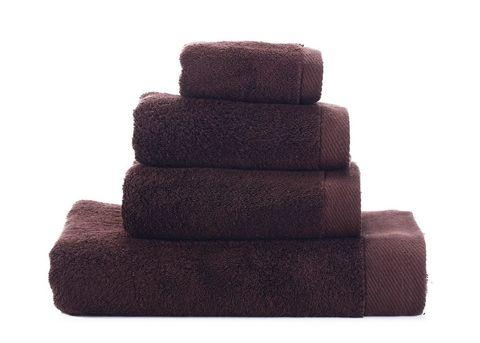 Seashells-2 темно-коричневое махровое  полотенце Valtery