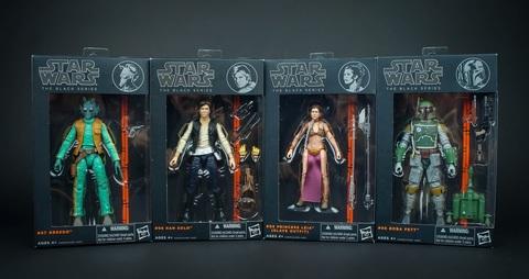 Звездные войны фигурки 15 см Black 2013 Series 02 упаковка
