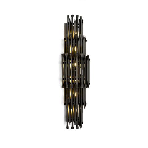 Настенный светильник копия Matheny by Delightfull (5 уровне, (черный)