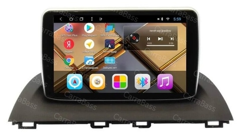 Магнитола Mazda 3, Axela( 2013+) Android 9,0 2/32 модель CB 3121T8