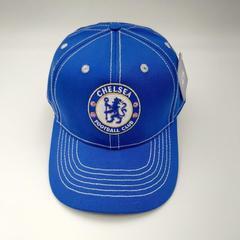 Кепка с логотипом ФК  Челси (Бейсболка FC Chelsea) синяя
