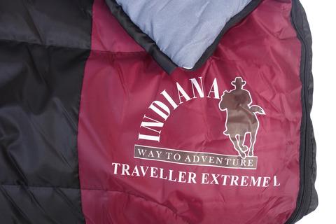 Спальный мешок INDIANA Traveller Extreme, логотип.