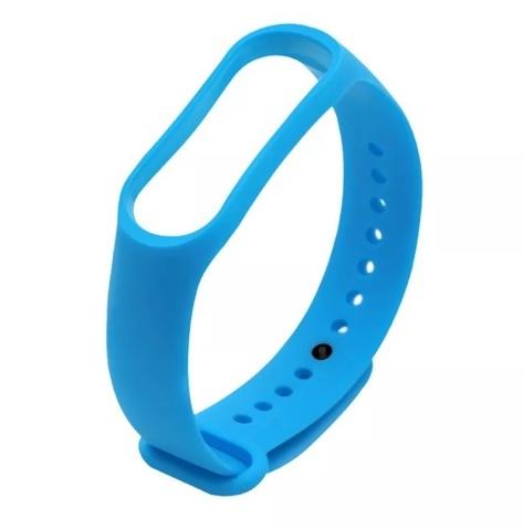 Ремешок для браслета Xiaomi Mi Band 5 голубой