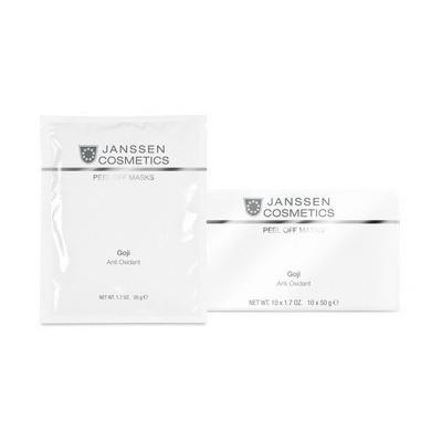 Janssen Peel off Mask: Альгинатная маска для лица с облепихой и ягодами гойи (Goji Anti Oxidant), 1*30г