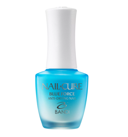 Покрытие укрепляющее для деформированных ногтей, Мощь океана BANDI NAIL CURE BLUE FORCE 14 мл.