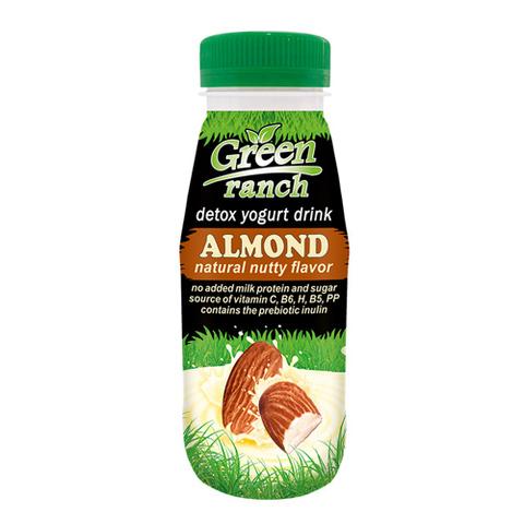 Green ranch Напиток миндальный на йогуртной закваске, без молока 250 г