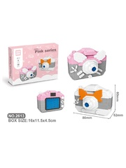 Конструктор Wisehawk & LNO Камера маус 794 деталей NO. 2613 Camera mouse Pink Series