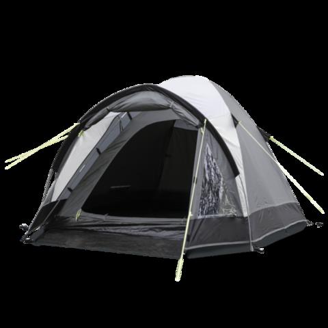 Кемпинговая каркасная палатка KAMPA Brighton 2 Grey