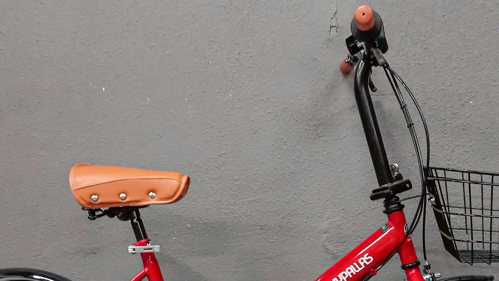 седло и руль велосипеда складного MyPallas M204