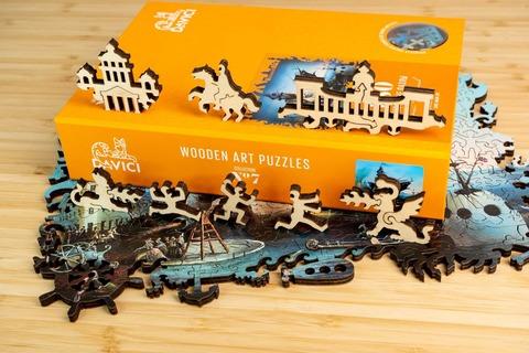 Невская увертюра от DAVICI - Деревянный пазл, сборная картина, которую вы собираете сами