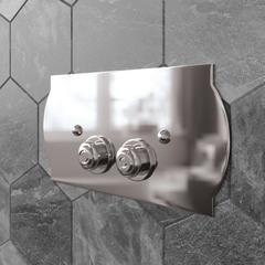 Клавиша смыва Tiffany World TW300.1cr хром