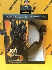 Игровые наушники с микрофоном Medal of Honor X1