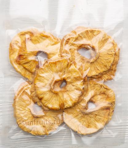 ананас вяленый в вакуумной упаковке