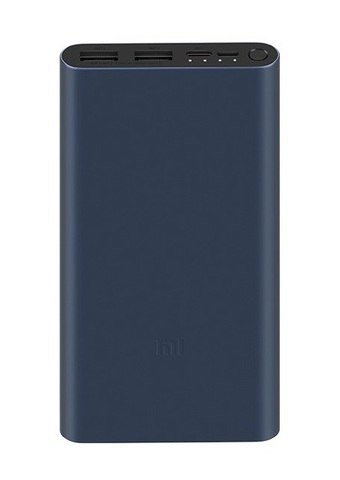 Внешний аккумулятор Power Bank Xiaomi (Mi) Power 3 10000 mAh 18W Type-C (VXN4274GL) GLOBAL, черный