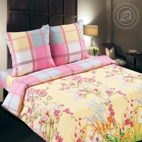 Комплект постельного белья Утренний сад DE LUXE